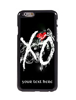 Personalized Gift XO Design Aluminum Hard Case for iPhone 6