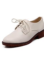 Women's Shoes Faux Flat Heel Round Toe/Closed Toe Flats