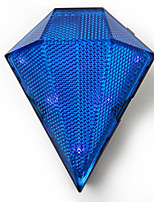 diamante de cristal luces de forma ciclismo cola