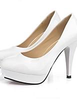 Women's Shoes Solid Color OL Stiletto Heel Platform Pumps