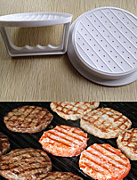 Plastic Hamburger Meat Beef Grill Burger Press Patty Maker Mold Mould Kitchen