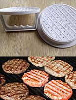 Kunststoff Hamburgerfleisch Rindfleisch Grill Burger Patty Maker Presseformform Küche