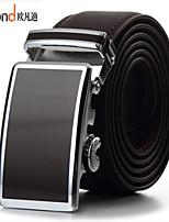 ALLFOND Unisex Casual/Party/Work Calfskin Waist Belt PZD4061-03