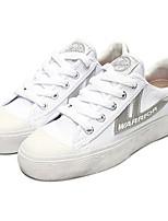 Scarpe Donna - Sneakers alla moda - Casual - Punta arrotondata - Piatto - Tessuto - Nero / Marrone / Giallo / Rosso / Grigio / Arancione