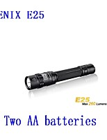 Genuine Phoenix Fenix E25 upgrade version of XP-E2 side by light 2 * AA flashlight 260 lumens