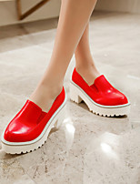 Women's Shoes  Stiletto Heel Pointed Toe Loafers Casual Black/Red/White
