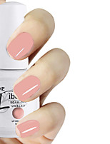 LIBEINE 1pc Soak Off 15 ML UV Gel Nail Polish Color Gel Polish 009# Romantic Pale Pink