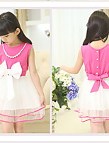 2015 Summer Bow Princess Dress  (Two kinds of Worn)