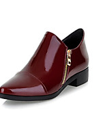 Women's Shoes Low Heel Heels/Pointed Toe Pumps/Heels Office & Career/Dress/Casual Black/Mahogany