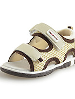 Baby Shoes toddler boys Outdoor/Casual open toe Tulle Sandals Beige