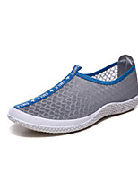 Men's Shoes Outdoor/Athletic Tulle Loafers Blue/Green/Gray