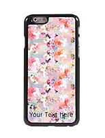 Personalized Gift Oil Painting Design Aluminum Hard Case for iPhone 6