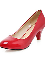Women's Shoes  Heel Heels Pumps/Heels Office & Career/Dress/Casual Black/Pink/Red/Beige
