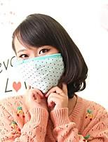 귀 보호 (임의의 색)와 사랑스러운 양털 먼지 방지 겨울 열 성인 마스크 얼굴 마스크 의료 거즈 마스크