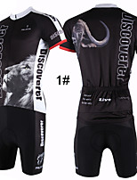 PaladinSport Men's  Cycyling Jersey + Shorts  Bike Suits DT301 DISCOVERER All Size