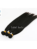 Best Beauty Three Bundles Natural Color Silky Straight Factory Wholesale Price 100% Peruvian Remy Human Hair Weave