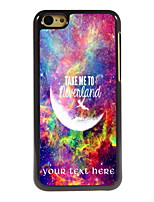 Personalized Gift Take Me To Neverland Design Aluminum Hard Case for iPhone 5C