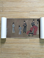 Chinese Painting Classic People Han Xi Zai RegalClub Hand Painted