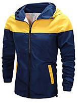 Men's Fashion Spell Hooded Slim Jacket