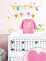 Multifunction Cloth Hanger & Wall Sticker/Hanger(4 Hangers a& a set of Wall Sticker)