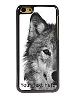 Personalized Gift The Wolf Design Aluminum Hard Case for iPhone 5C
