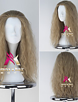 New Movie The Avengers Thor Men's Long Curly Ash Blonde Color Moive Cosplay Wig