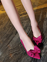 Women's Shoes  Stiletto Heel Heels/Comfort/Pointed Toe/Closed Toe Pumps/Heels Dress/Casual Black/Red/Gray