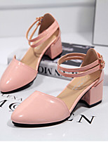 Women's Shoes  Synthetic  Chunky Heel   Heels  Pointed Toe  Pumps/Heels  Outdoor  Casual