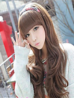 Japanese and Korean Fashion Girl Liu Qi Long Hair Wig