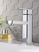New Brass Single Hole Basin Faucet Cold And Hot Water Torneira Good Quality Kitchen Tap