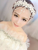 Pearl Hair Flower Bride Hair Wedding Headdress Wedding Accessories One Piece