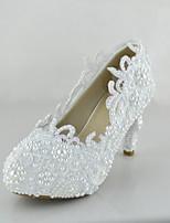 Homme Chaussures de mariage Talons Talons Mariage/Soirée & Evénement/Habillé Blanc