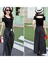 Women's Black T-shirt Short Sleeve