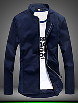 Men's Korean Fashion Stand Collar Slim Jacket