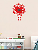 DIY Love Lovers Wall Clock