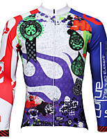 PaladinSport Men's Long Sleeve Cycling Jersey New Style CX369 100% Polyester