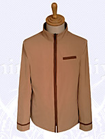 Fate Stay Night  Shirou Emiya Khaki Coat Cosplay Costumes