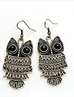 European Fashion Owl Shape Drop Earring(1 Pair)