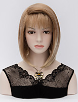 The European and American Fashion Hair Light Brown Gradient Wig