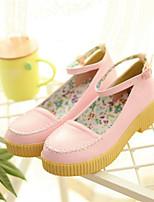Women's Shoes Synthetic Low Heel Heels/Basic Pump Pumps/Heels Office & Career/Dress/Casual Yellow/Pink/Beige/Orange