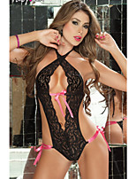 Women's Lace Transparent Ultra Sexy Hollow Out Nightwear