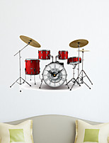 3D The Musical Instruments Decoration Wall Stickers Wall Decals