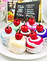 Cherry Swiss Roll Cake Towel (Set of 6)(Random Distribution)