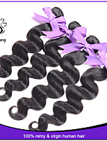 Indian virgin hair body wave 4pcs grade 7A cheap human hair extension 8