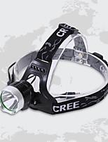 Lanternas LED ( Prova-de-Água ) - Para Campismo / Escursão / Espeleologismo/Uso Diário - LED 1 Modo 900 Lumens OutrosBateria/Carregador