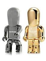 32GB Robot Metal USB Flash Drives