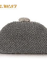 L.WEST® Women's Luxury Diamonds Party/Evening Bag