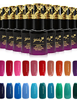 Newest Popular Top Fashion 15ML Soak-off UV Color Gel Polish (Assorted Colors)