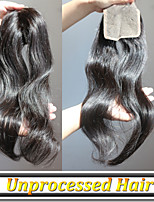 1pcs/Lot Lace Clousure Malaysian Unprocessed Human Hair Grade 6A