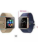 The New Bluetooth Watch First Round Screen Measuring Heart Rate V9 Compatible with apple